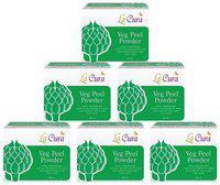 La Cura Veg Peel Power (Pack Of 6 pc 60 g Each)