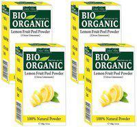 Indus Valley Bio Organic Lemon Peel Powder- Pack of 4