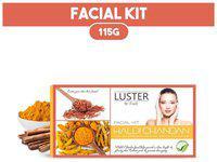 LUSTER Haldi Chandan Facial Kit (115g)