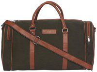 Mboss Synthetic 50.5 Cms Green Travel Duffle (tb 052 Green Tan)