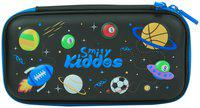 Smily Small Pencil Case (Black)   pencil cases for School& kids   pencil cases stylish   pencil case organizer for Boys girls   pencil case for Black   eva pencil case for girls