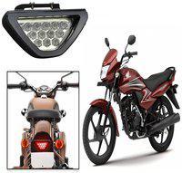 Capeshopper Red 12 Led Brake Light With Flasher For Honda Dream Yuga -Red