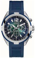 Guess W1168G1 Blue Chronograph Men's Watch