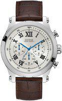 Guess W1105G3 White Dial Chronograph Men's Watch