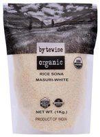 Bytewise organic Sona masoori Rice 1000gm (pack of 1)