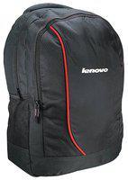 Lenovo Black Polyester Backpack