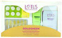 Lotus Herbals Professional, Goldsheen Facial Kit For Women 250 gm