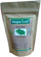 Shagun Gold Pure Organic Neem powder for face pack&hair treatment (pack of 2) 200gm