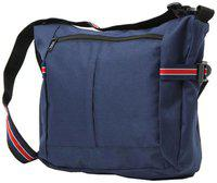 Walletsnbags Blue Pu Sling bag