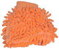 Canabee Microfiber Cleaning Gloves Super Mitt (Orange)