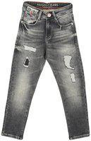 HAIG-DOT Boy's Regular fit Jeans - Black
