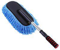Car Cleaning Wash Brush Dusting Tool Large Microfiber Telescoping Duster for Car