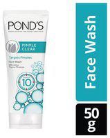 Ponds Face Wash - Pimple Clear White 50 gm