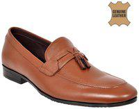 Allen Cooper Tan Formal Moccasins