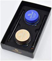 Half N Half Long Lasting Gel Eyeliner;(Black &Blue) Water & Smudge Proof;24 Hours, set of 2 pcs , 4 g each (Pack of 1 )