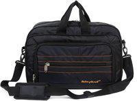 Kelvin Planck Black Laptop Messenger Bag-Formal Office Side Bag For Men