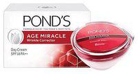 Ponds Age Miracle Wrinkle Corrector SPF 18 PA plus plus Day Cream 35 g