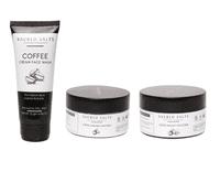 Sacred Salts Coffee Face Wash;Face Scrub & Face Pack (Face wash 75gm;scrub 100gm;pack 100gm)(Pack of 3)