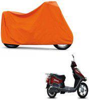 ABP Premium Orange-Matty Bike Body Cover For Hero Electric Flash