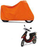 ABP Premium Orange-Matty Bike Body Cover For Yo Bike Yo Electron
