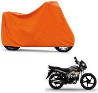 ABP Premium Orange-Matty Bike Body Cover For Mahindra Centuro