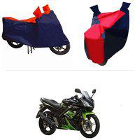 Andride ADTBC112 Bike Body Cover (Red and Blue) for Yamaha R15 s