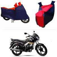 Andride ADTBC112 Bike Body Cover (Red and Blue) for Mahindra Centuro