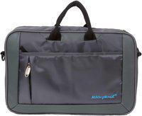 Kelvin Planck Grey Polyester Laptop messenger bag & Messenger bag