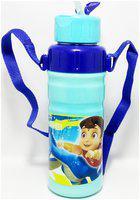 JM GROUP Stainless Steel Blue Water Bottle ( 700 ml , Set of 1 )