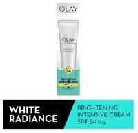Olay Olay Moisturizer - White Radiance Brightening Intensive Cream, SPF 24 UVA/UVB 20 gm