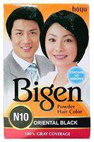 Bigen Hair Color Powder - Oriental Black (No. 10) 1 pc