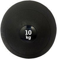 DE JURE FITNESS Imported Medicine Rubber Slam Ball Strength & Conditioning Cross Training, Core Training, Squats, Lunges & Plyometric, Slam Ball 10kg