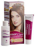 Revlon Colour N Care Permanent Hair Colour Cream - Medium Brown 5N 40 gm