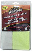 Armor All Combo of Polishing and Microfiber Cleaning Cloth : pack of 1