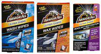 ARMOALL ULTRASHINE WASH Wipes, Wax Wipes, HEADLAMP Restoration Wipes (12 CT) : Forget The Hassle of Using A Bucket & A Hose Pipe. Clean Your CAR in ONE Step with These Xtra Large PRE-MOISTENED Wipes