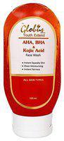 Globus Aha, Bha & Kojic Acid Brightening Face Wash 100 ml