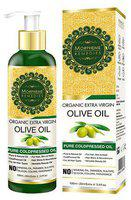 Morpheme Remedies Organic Extra Virgin Olive Oil - Pure Coldpressed Oil For Hair 120 ml