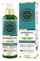 Morpheme Remedies Bhringraj Hair Oil - Pure Coldpressed & Undiluted Oil 200 ml