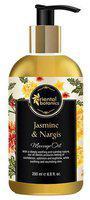 Oriental Botanics Body Massage Oil - Jasmine & Nargis 200 ml