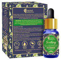 Oriental Botanics Soothing Aromatherapy Diffuser Oil - Cedarwood, Sandalwood, Rosewood & Lavender 15 ml