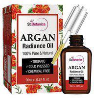StBotanica Argan Radiance Face Oil - For Anti-Aging & Anti Wrinkle Skin Brightening Serum 20 ml