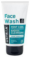 Ustraa Face Wash - Dry Skin Mint Cool 100 gm