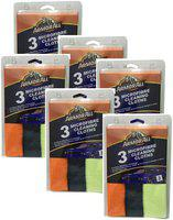 ArmorAll Microfiber Cloth 3 Pack (30 cm x 40 cm): (Pack of 6)