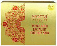 Aroma Treasures Royal Gold Facial Kit For Oily Skin 230 g