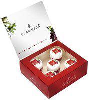 Glamveda Red Wine Advance Anti Ageing Facial Kit 110 gm