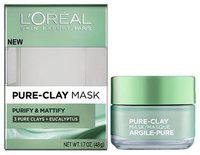 Loreal Paris Pure Clay Mask - Purify & Mattify 48 Gm