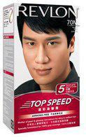 Revlon Revlon Top Speed Hair Color - Natural Black (Ammonia Free) 70 ml