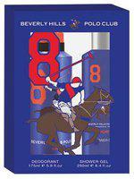 Beverly Hills Polo Club Gift Set - Shower Gel plus Deodorant 425 ml