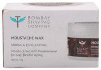Bombay Shaving Company Moustache Wax - Wood Scented Strong & Long Lasting 50 gm