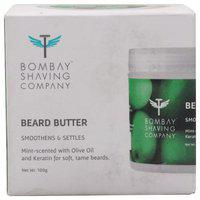 Bombay Shaving Company Beard Butter - Mint Scented Smoothens & Settles 100 gm